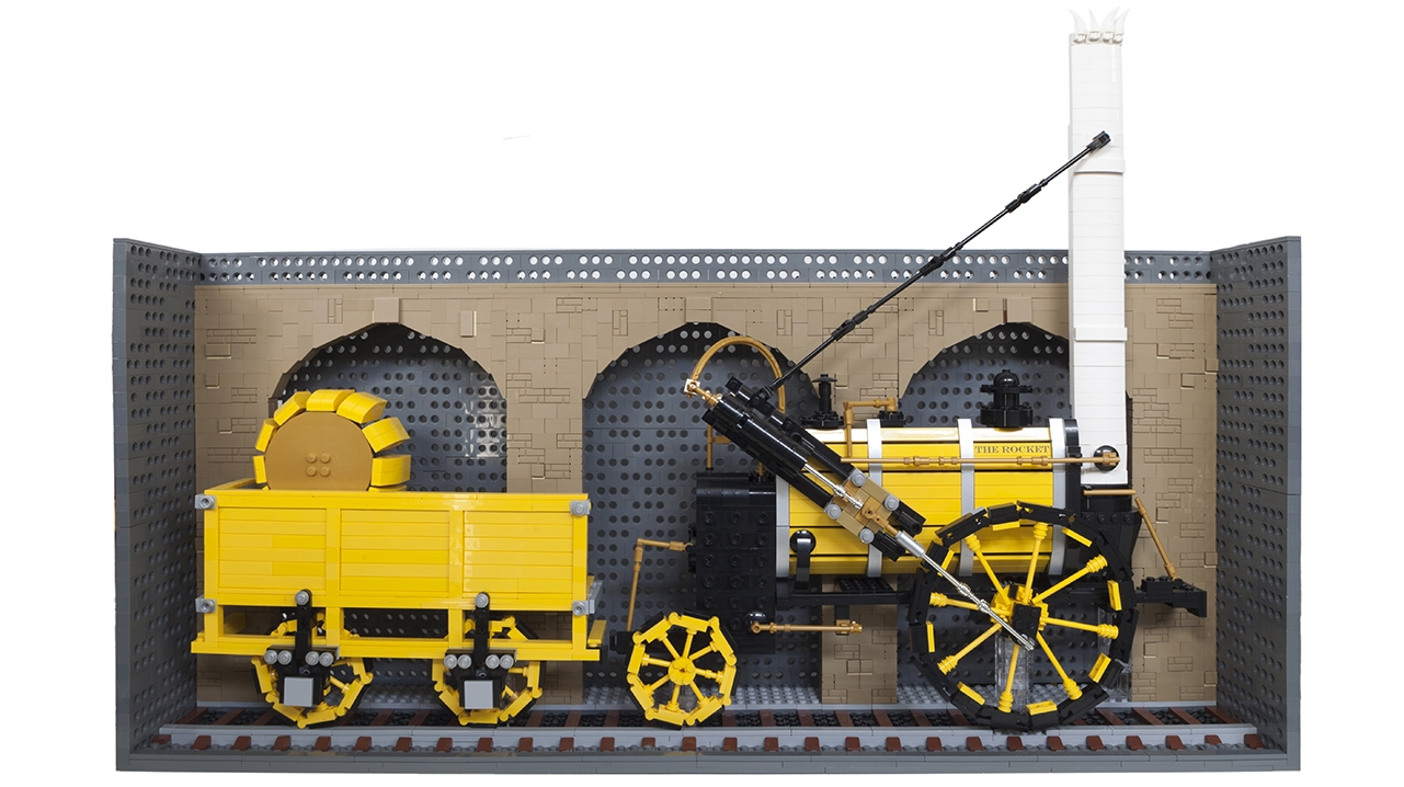 1829 The Rocket Legobrick This9358