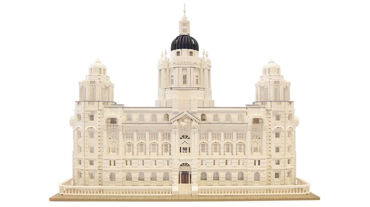 1907 Port Of Liverpool Legobrick This8955
