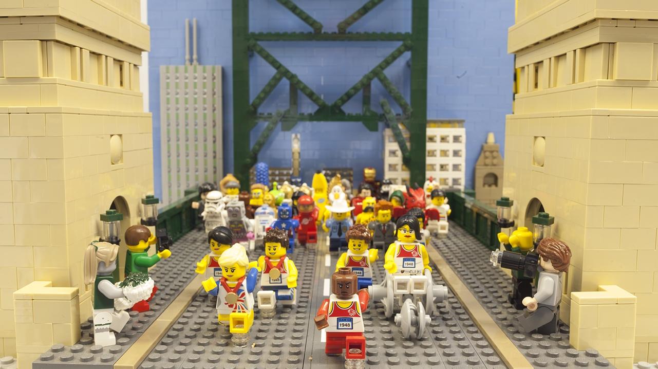 1981 Great North Run Legobrick This9322