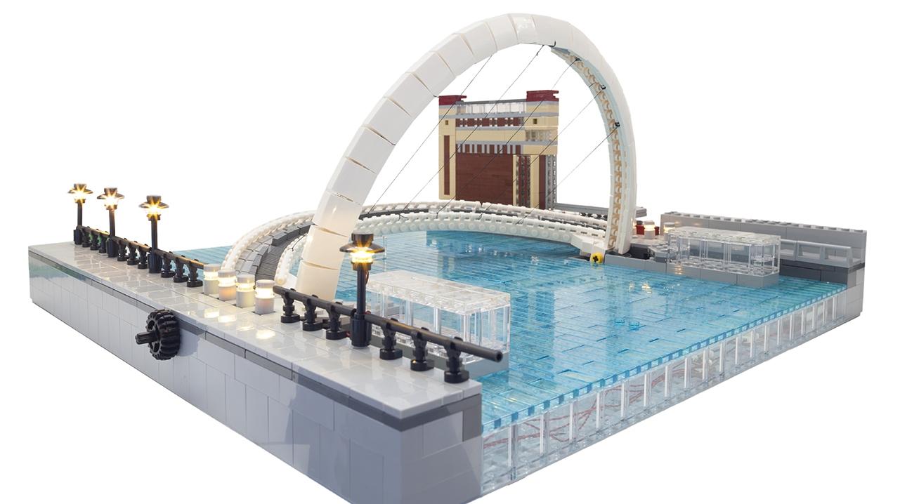 2001 Millennium Bridge Legobrick This9353