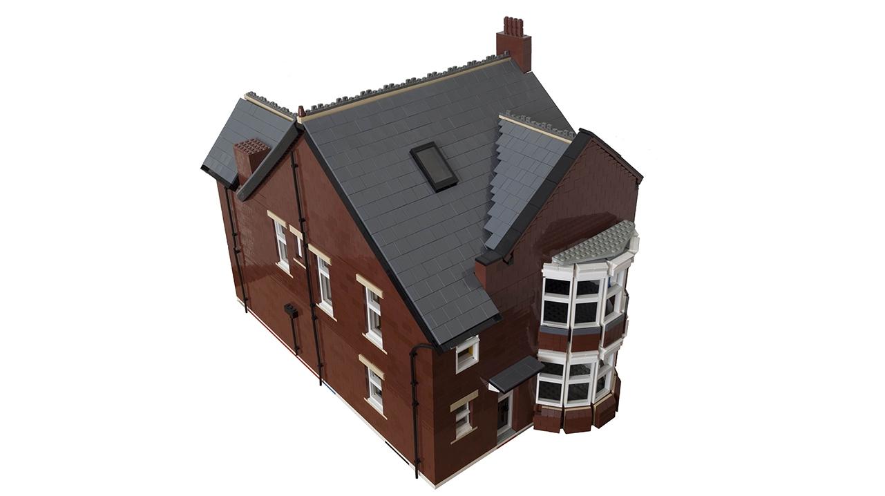 9708 Flat Lego House