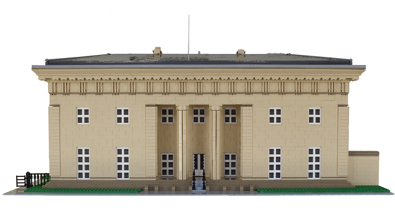 Belsay Hall Lego Commission 1