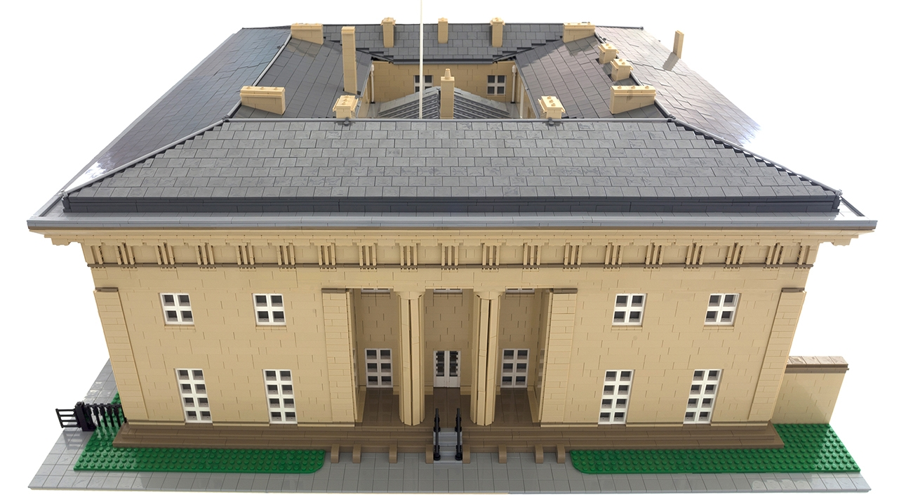 Belsay Hall Lego Commission 2