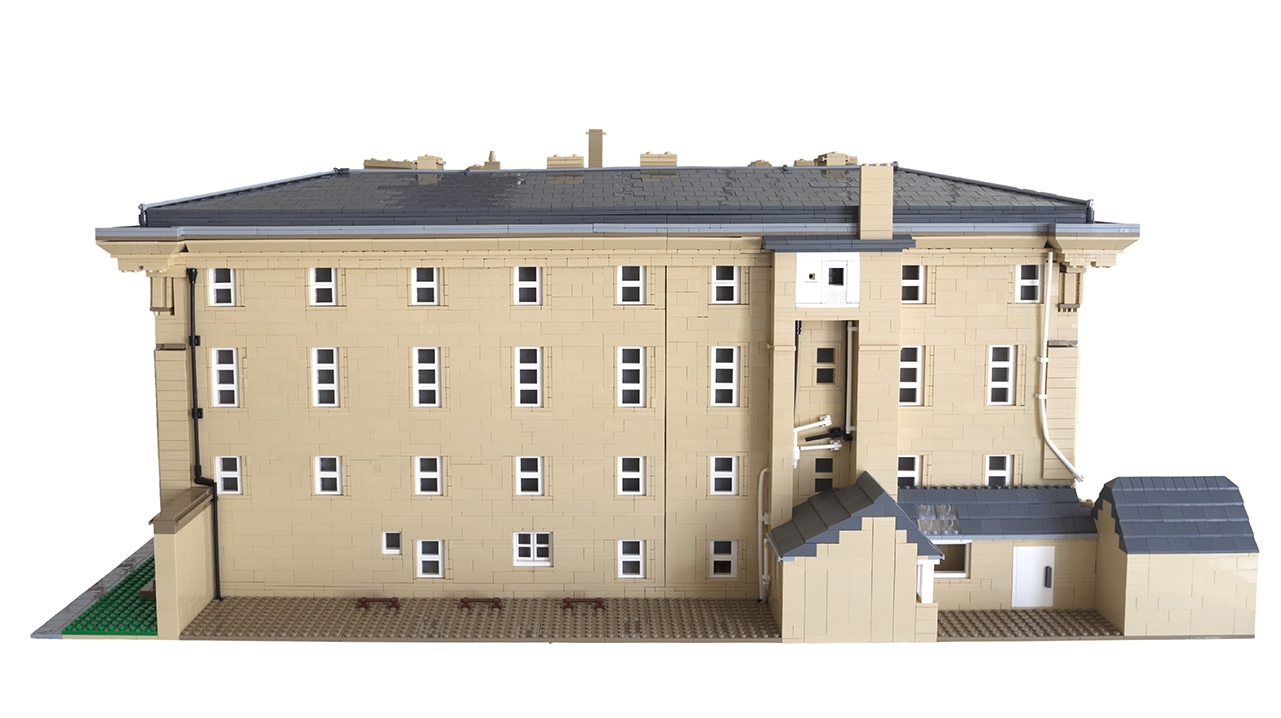 Belsay Hall Lego Commission 3