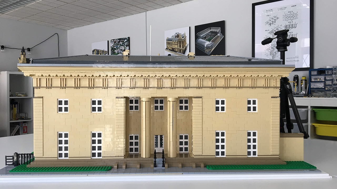 Belsay Hall Lego Commission 7