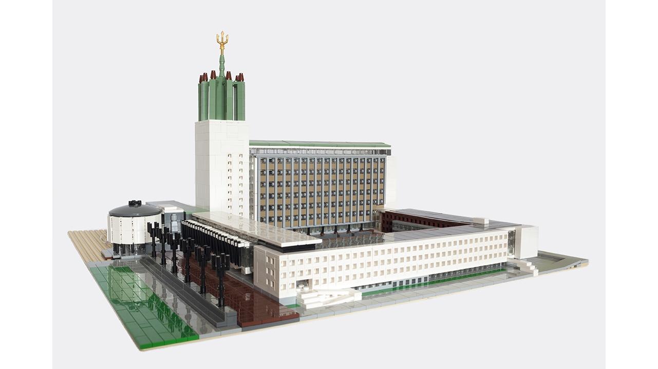 Civic Centre 39760 Cutout