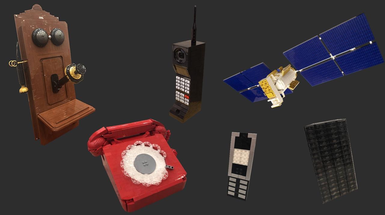 Lego Phones Telecomms