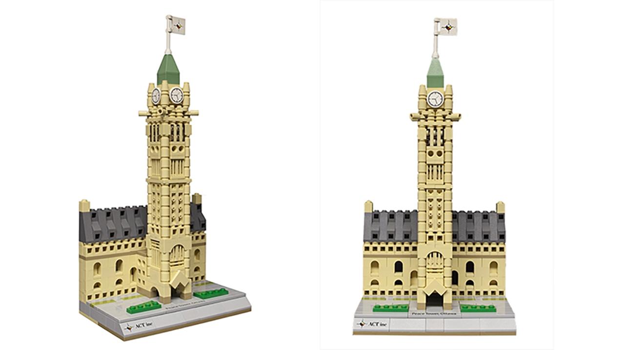 Peace Tower Lego 9881