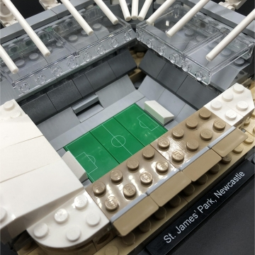 Buildable St James' Park