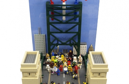 1981 Great North Run Legobrick This9319