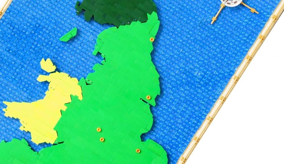Ukmap Lego Smayes9365B