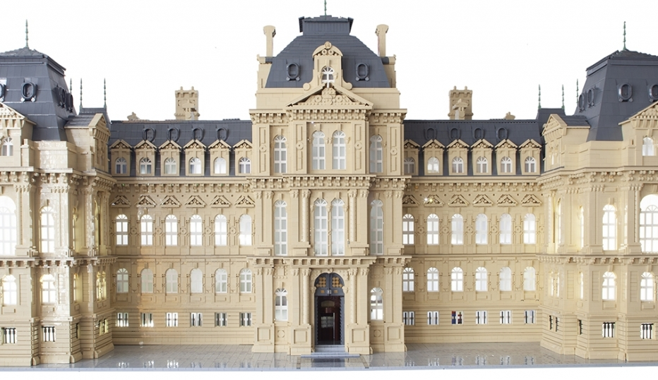 Bowes Museum Lego